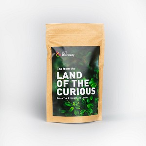 Land of the Curious -tee 80 g Green Tea / Ginger and Lemon